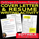 Résumé and Cover Letter Writing for College & Career Readiness
