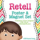 Retell Poster & Magnet Set ~ Retelling Manipulatives!