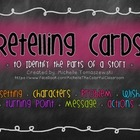 "Retelling Cards + Interactive Notebook ""Story Parts"" Activity"