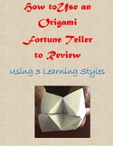 Reviewing for Tests and Quizzes with an Origami Fortune Teller