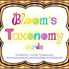 Revised Bloom's Taxonomy Cards