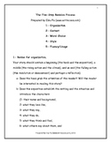 Revision - The Five-Step Process