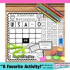 Revolutionary War ~ American Revolution BINGO Game
