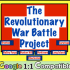 Revolutionary War Battle Project:  Students research, crea