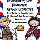 Revolutionary War Newspaper Graphic Organizers
