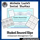 Reward Slips, Homework Passes, Bonus Slips and More!