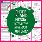 Rhode Island History Lesson-Common Core-Audio Included!