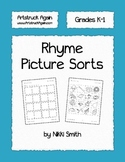 Rhyme Picture Sorts