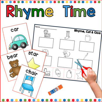 Rhyming packet for Kindergarten
