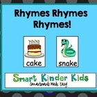 Rhymes Rhymes Rhymes!  Smartboards Made Easy!