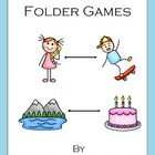 Rhyming File Folder Games