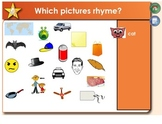 Rhyming SMARTboard Lesson:  Phonemic Awareness and Elkonin Boxes