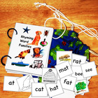 Rhyming Word Families Colorful Mini Book of 22 assorted wo