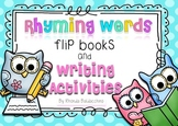 Rhyming Words Flip Books and Writing Activities For Emerge