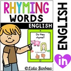 Rhyming Words {Tablet Apptivity}