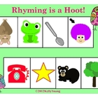 Rhyming is a Hoot! Printable Games