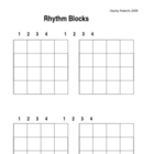 Rhythm Blocks - Introduction to rhythm sequencing