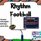 Rhythm Football (rhythms with half notes) SMART Board Lesson