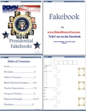 Richard Nixon Presidential Fakebook Template