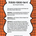 Rikki-tikki-tavi: 3 Activities