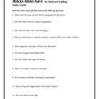 Rikki-tikki-tavi Study Guide with answer key