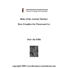 Rime of the Ancient Mariner Dore Print classroom package -