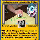 Risk Sharing your Dream Speech Like Dr. King Did