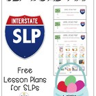 Road Map for April: Speech/Lang Lesson Plans