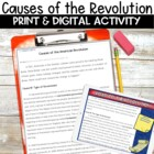 Road to the Revolution Informational Packet