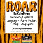 """Roar"" By Katy Perry Figurative Language & Poetic Devices"