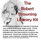 Robert Browning Teacher Kit Lesson Plan
