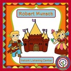 Robert Munsch Instant Listening Center - Author Study QR c