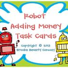 Robot Adding Money Task Cards