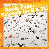 Rock Paper Scissor for S Z and TH articulation
