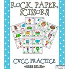 Rock, Paper, Scissors: CVCC Words {Final Blends}