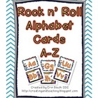 Rock n Roll Word Wall Cards