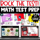 Rock the Test! {Common Core Test Prep Math Centers for 4th Grade}