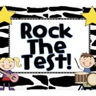 Rock the Test Sign