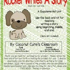 Rocket Writes a Story and You Can Too!  {Learn How to Writ