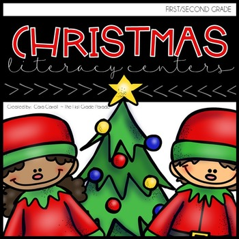 Rockin' Around The Christmas Tree {12 Literacy Centers for December}