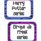 Rockin' Book Basket Labels