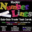 Rockin' Number Lines - Fractions & Decimals