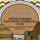 Rocks Minerals Soil Unit Passages Experiments Foldables...