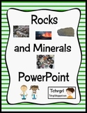 Rocks and Minerals PowerPoint Interactive Presentation