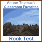 Rocks and Minerals Test (Multiple Choice and Open Response)