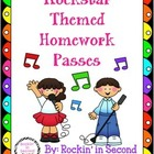Rockstar Theme Homework Passes