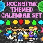 Rockstar Themed Calendar Bundle