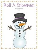 Roll A Snowman - Differentiated Levels
