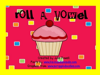 Roll-A-Vowel!