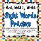 Roll, Read, Write - Sight Words Practice *With Editable Pages*